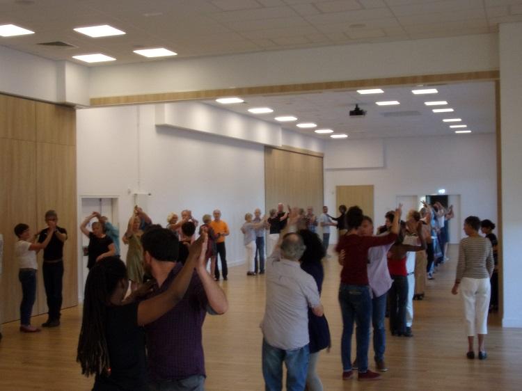 Environ 40 couples de danse
